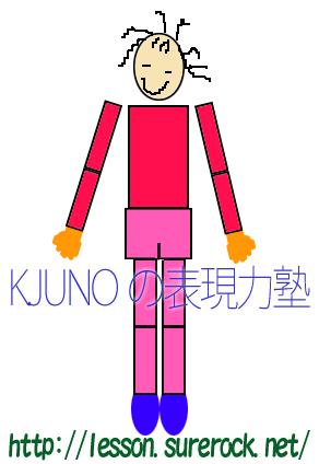 K.JUNOの表現力塾マスコット